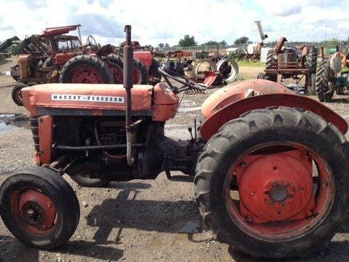 Used Massey Ferguson 65 Tractor Parts