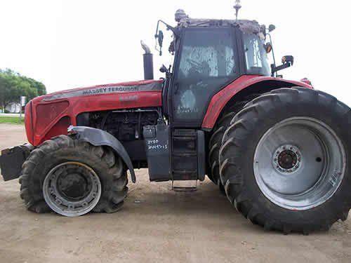 Used 2008 Massey Ferguson 8480 Tractor Parts