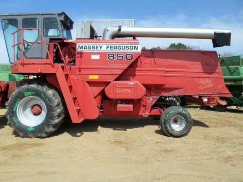 Used Massey Ferguson 850 Combine Parts