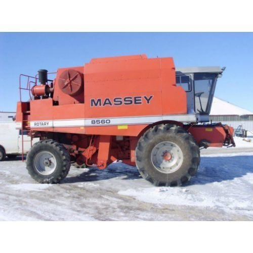 Used Massey Ferguson 8560 Combine Parts