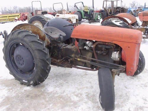 Used Massey Ferguson TO20 Tractor Parts