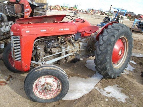 Used Massey Ferguson TO35 Tractor Parts
