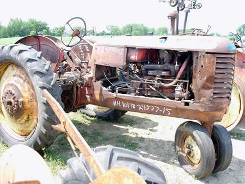 Used Massey Harris 101 Tractor Parts