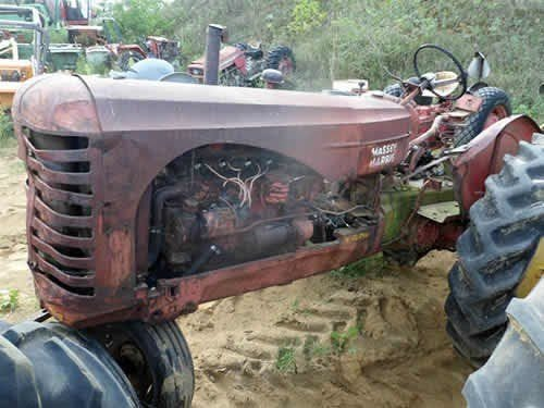 Used Massey Harris 33 Tractor Parts