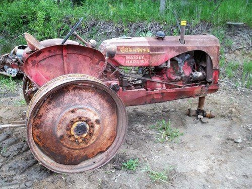Used Massey Harris 44 Tractor Parts