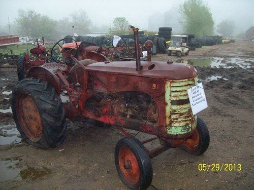 Used Massey Harris 81 Tractor Parts