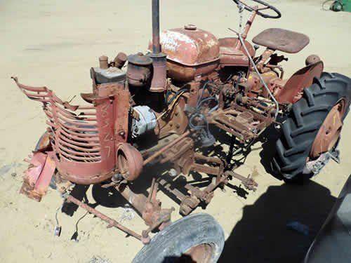 Used Massey Harris Pony Tractor Parts
