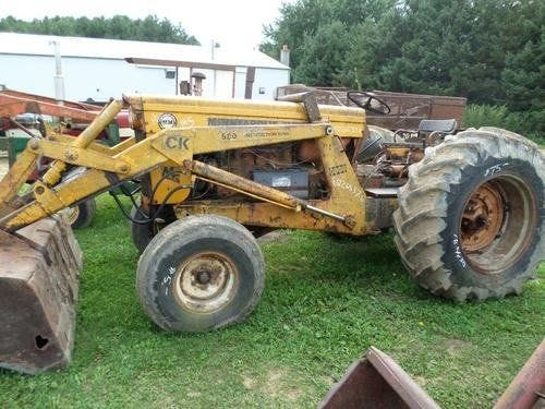Used Minneapolis Moline M5 Tractor Parts