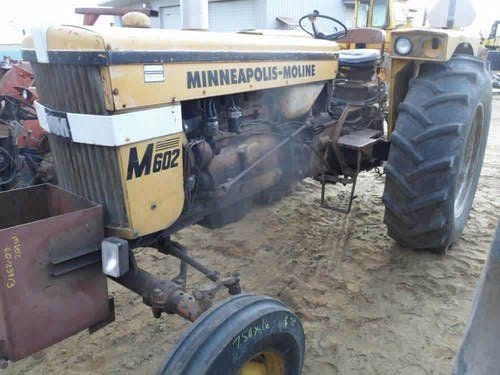 Used Minneapolis Moline M602 Tractor Parts