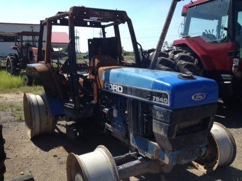 Used 1993 New Holland 7840 Tractor Parts