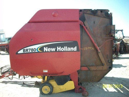 Used 2008 New Holland BR780 Baler Parts