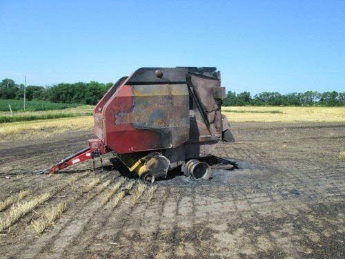 Used New Holland BR780A Baler Parts