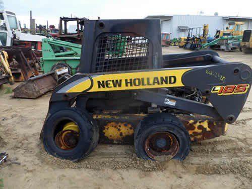 Used New Holland L185 Skid Steer Loader Parts