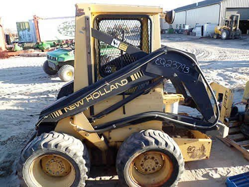 Used New Holland L455 Skid Steer Loader Parts