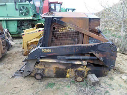 Used New Holland LS160 Skid Steer Loader Parts