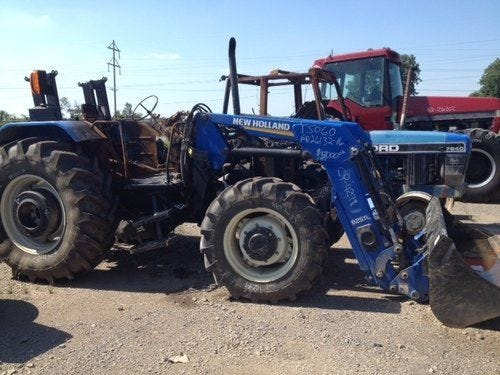 Used New Holland T5060 Tractor Parts