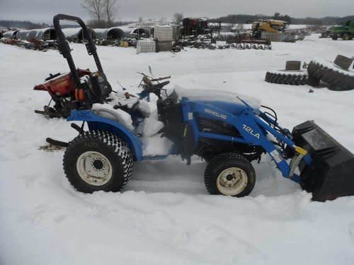 Used 2002 New Holland TC24D Tractor Parts