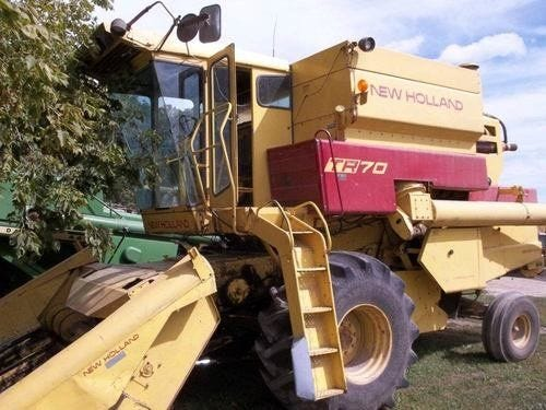 Used New Holland TR70 Combine Parts