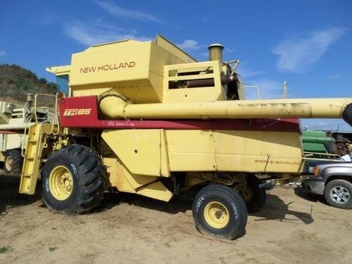 Used New Holland TR85 Combine Parts