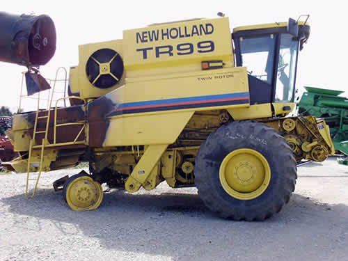 Used 2001 New Holland TR99 Combine Parts
