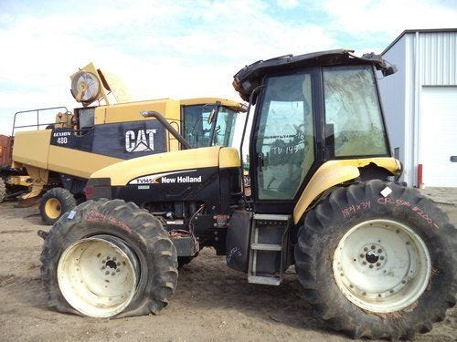 Used 2004 New Holland TV145 Tractor Parts