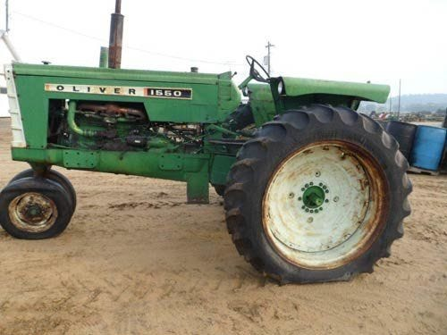 Used Oliver 1550 Tractor Parts