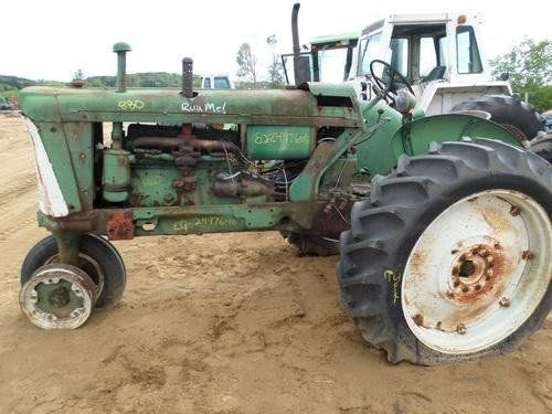 Used Oliver 880 Tractor Parts