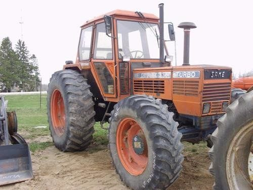 Used Same 130 Tractor Parts