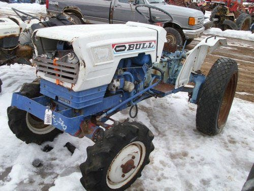 Used Satoh S630D Tractor Parts