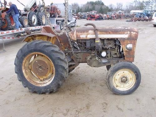 Used Satoh S650 Tractor Parts