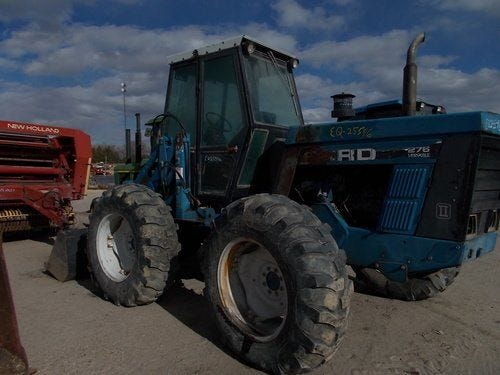 Used 1990 Versatile 276 Tractor Parts