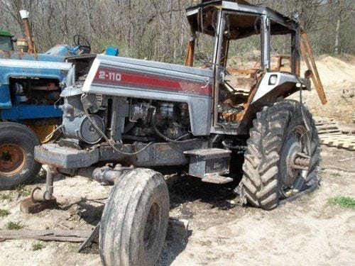 Used 1985 White 2-110 Tractor Parts