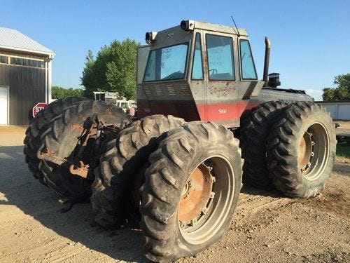 Used White 4-150 Tractor Parts