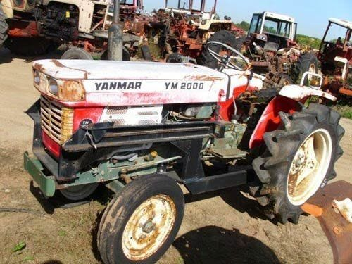 Used Yanmar YM2000 Tractor Parts