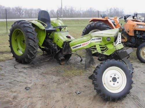Used Yanmar YM330D Tractor Parts