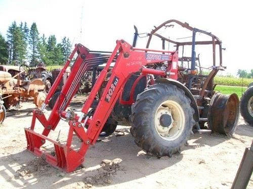 Used 2007 Zetor 10741 Tractor Parts