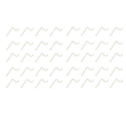 Wheel Rake Tooth - Set of 40, New, John Deere, AE57831, Massey Ferguson, 1031118M1, Vermeer