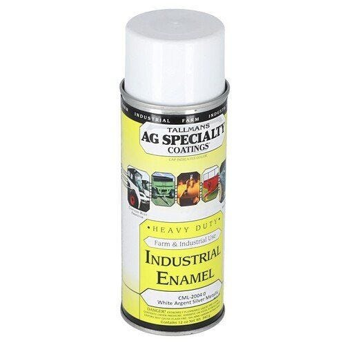 White Metallic Argent Silver Tractor Paint Gallon 108395-EAS