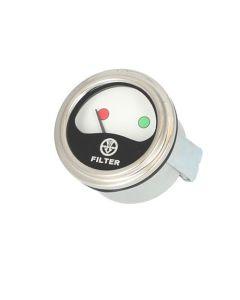 113761   Air Cleaner Change Indicator Gauge   International   Farmall   IH Hydro 100 766 966 1066 1466 1468 1566 1568 4366 4386 4568 4586      1341364C1   397942R91   533991R1   536230R1