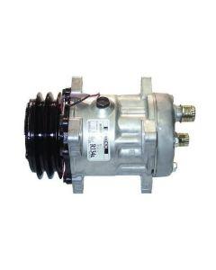 Air Conditiioning Compressor Sanden fits New Holland FX25 FR9040 FR9050 FX45 FX58 FR9080 FX48 FX60 TX68 TX66 FX38 FX28 FR9060 84018077 89831429