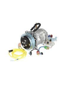 158468   Air Conditioner Compressor Conversion Kit   Sanden Style   John Deere 4040 4230 4240 4350 4430 4440 4630 6620 7720 8430 8440 8630 8640  