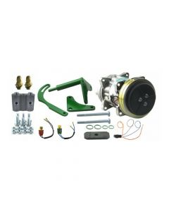 Air Conditioning Compressor Converrsion Kit Delco A6 to Sanden with Dual Switch fits John Deere 4230 4000 4040 4430 7720 4020 4630 4440 4240 7700