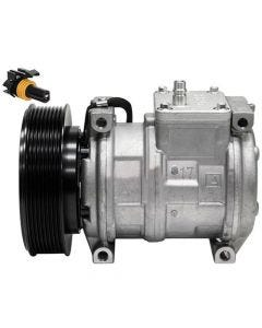 Air Conditioning Compressor - Denso, New, John Deere, AT168543, AT172975