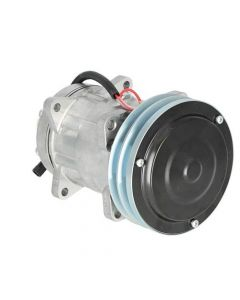 Air Conditioning Compressor - / Caterpillar fits Case IH fits Case fits New Holland fits McCormick fits Massey Ferguson fits Challenger fits New Idea
