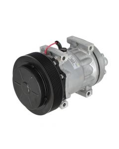 Air Conditioning Compressor - Sanden Style fits Case IH 7130 7230 7120 fits New Holland fits Gleaner fits Massey Ferguson fits Case fits Challenger