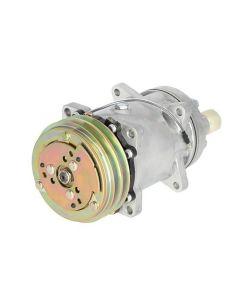 114074 | Air Conditioning Compressor - w/Clutch | Sanden Style | Massey Ferguson 373 374S 384S 394S 8680 8780 9690 9695 9790 9795 | Ford 256V 555C 555D |  | 450805 | 3550921M91 | 700712705 | 71379601 | 86001191 | 9704118 | 9705764 | F0NN19D629BA | V88340