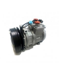 168930 | Air Conditioning Compressor - With Manifold | John Deere CTS 250D 300 300D 310 310D 310E 310SE 315 315D 315SE 317 320 325 328 332 335 360D 360DC 410D 410E 435 437 444H 444HLL 444J 450H 450J 460DC |  | RE46657 | RE53408 | SE501463 | SE501480