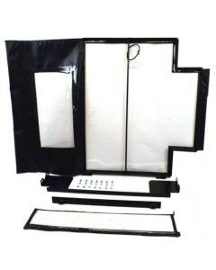 112043 | All Weather Enclosure Replacement Door | New Holland Skid Steer Loaders L160 | L170 | L175 | L180 | L185 | New Holland L160 L170 L175 L180 L185 L190 LS160 LS170 LS180 LS190 LX565 LX665 LX865 LX885 |