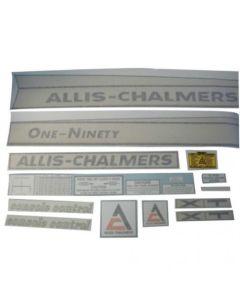 100211 | Allis Chalmers Decal Set | One-Ninety XT | Vinyl | Allis Chalmers 190 |