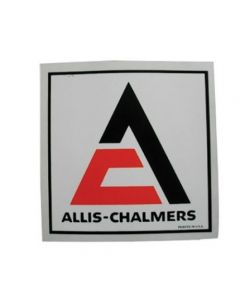 100152 | Allis Chalmers Decal | Triangle | 4-1/2